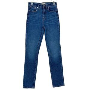Madewell The High Rise Slim Boy Friend Medium Wash Jeans, Size 26T